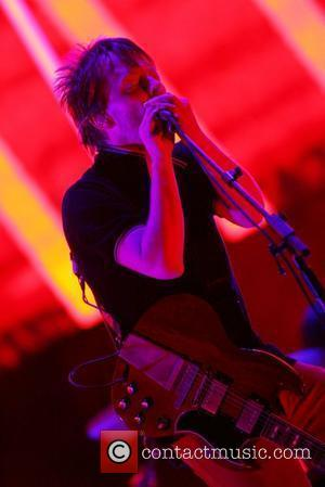 Thome Yorke of Radiohead All Points West Music and Arts Festival at Liberty State Park - Day 2 Jersey City,...