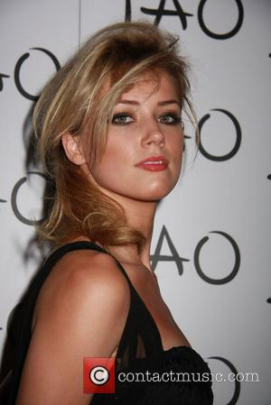 Amber Heard  hosts at TAO club inside the Venetian resort hotel casino. Las Vegas, Nevada - 08.08.08