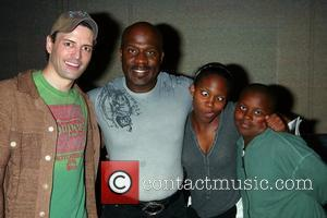 Sean Palmer (formerly Sex and the City, now in Prince Eric in Mermaid), BeBe Winans, Maya Winans and Benjamin Winans...