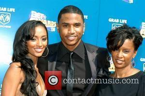 Trey Songz and guests BET Awards 2008 at the Shrine Auditorium - Arrivals Los Angeles, California - 24.06.08