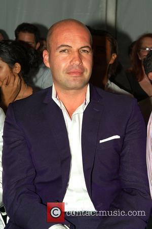 Billy Zane  Pistol Panties 2009 collection fashion show - Front Row Mercedes-Benz Fashion Week Swim at the Raleigh Hotel...