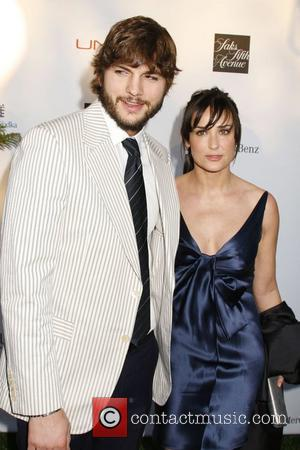 Ashton Kutcher and Demi Moore 7th Annual Chrysalis Butterfly Ball held at a Private Estate Los Angeles, California - 31.05.08