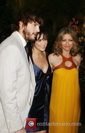 Ashton Kutcher, Demi Moore and Rebecca Gayheart 7th Annual Chrysalis Butterfly Ball held at a Private Estate Los Angeles, California...