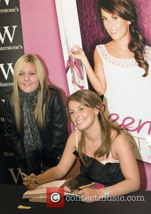 Coleen Rooney  signs copies of her new book 'Coleen's Real Style' at Waterstones Liverpool, England - 06.09.08