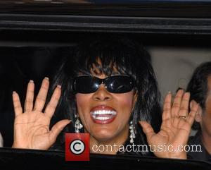 Donna Summer leaving after appearing as a guest on CBS' 'Late Show with David Letterman' New York City, USA -...