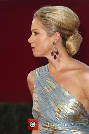 Christina Applegate 60th Annual Primetime Emmy Awards held at Nokia Theatre _ Arrivals Los Angeles, California - 21.09.08