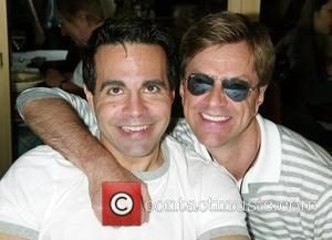 Mario Cantone, Jim Caruso The 22nd Annual Broadway Cares Broadway Flea Market in Shubert Alley New York City, USA -...
