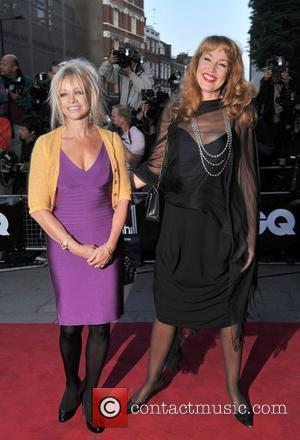 Jo Wood and Jerry Hall GQ Men of the Year Awards held at the Royal Opera House - Arrivals London,...