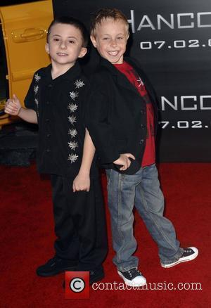 Atticus Shaffer and Jae Head 'Hancock' Los Angeles Premiere - Arrivals held at the Grauman's Chinese Theatre Hollywood, California -...