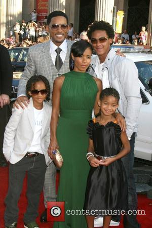 Will Smith, Trey, Jaden, Jada Pinkett Smith and Willow Smith 'Hancock' Los Angeles Premiere - Arrivals held at the Grauman's...