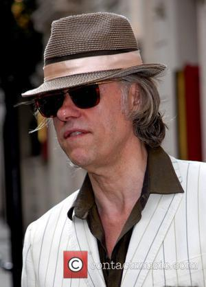 Bob Geldof at the press night for the stage production of 'The Harder They Come' at the Playhouse Theatre London,...