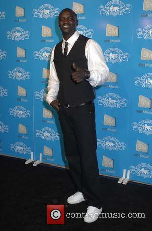 Akon House of Hype MTV Video Music Awards party - arrivals Los Angeles, California - 07.09.08