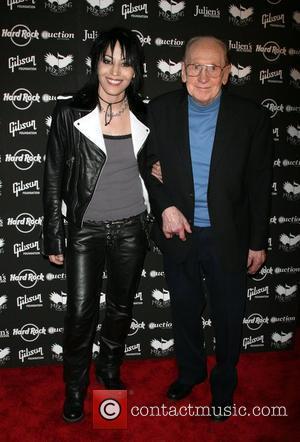 Joan Jett and Les Paul