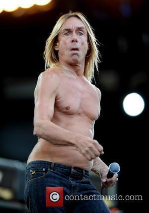 Iggy Pop and The Stooges performing 2008 Isle of Wight music festival - day 2 Isle of Wight, England -...