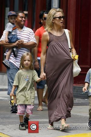 Kate Hudson and son Ryder Robertson go out for lunch in Manhattan New York City, USA - 03.08.08