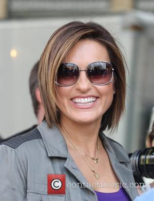 Mariska Hargitay filming an episode of Law and Order: SVU in the Meat Packing District New York City, USA -...