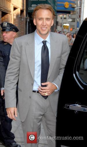 Nicolas Cage, David Letterman