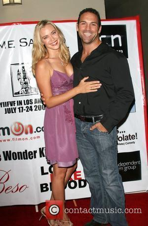 Kristanna Loken and Noah Danby New York International Independent Film and Video Festival screening of 'Lime Salted Love' at the...