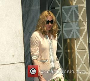 Madonna's Car Vandalised