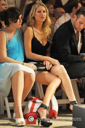 Anna Kournikova  at the Red Carter Swimwear 2009 collection during Mercedes-Benz Fashion Week at the Raleigh Hotel  Miami,...