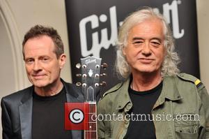 Smile Please! Jimmy Page Poses For Photo-only Biography