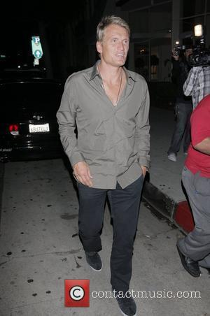 Dolph Lundgren outside Mr Chow in Beverly Hills Los Angeles, California - 25.06.08