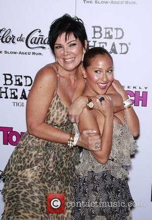 Kris Jenner and Adrienne Bailon In Touch VMA Post Party at Chateau Marmont - arrivals Hollywood, California - 07.09.08
