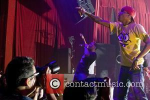 Pharrell Williams and Shae Haley Of N.e.r.d.
