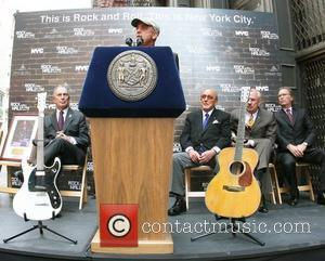 Billy Joel, Clive Davis and Rock And Roll Hall Of Fame