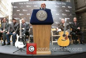 Joel Peresman, Billy Joel, Clive Davis and Rock And Roll Hall Of Fame