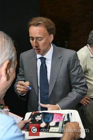 Nicolas Cage leaving ABC Studios after appearing on 'Good Morning America' New York City, USA - 03.09.08