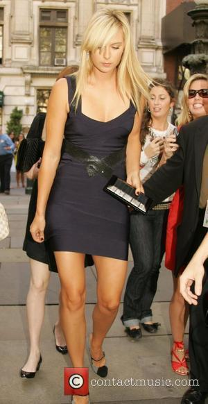 Maria Sharapova Mercedes-Benz Fashion Week Spring 2009 - Herve Leger - Arrivals New York City, USA - 07.08.09