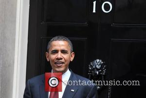 US presidential candidate Barack Obama leaves 10 Downing Street after talks with PM Gordon Brown London, England - 26.07.08