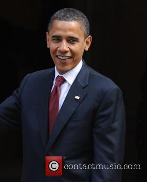 US presidential candidate Barack Obama at 10 Downing Street for talks with British Prime Minister Gordon Brown London, England -...
