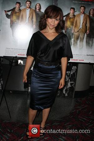 Rosie Perez Three Olives Vodka & Columbia Pictures presents a special screening of Pineapple Express at the AMC theatre New...