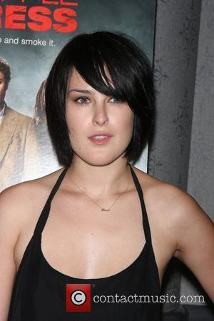Rumer Willis Three Olives Vodka & Columbia Pictures presents a special screening of Pineapple Express at the AMC theatre New...