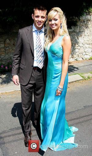 Wesley Quirke and Rosanna Davison Wedding of Robbie Keane and Claudine Palmer in Killiney Dublin, Ireland - 07.06.08