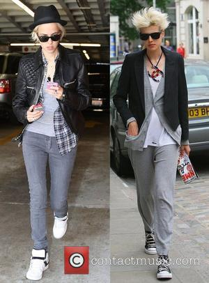 * SEPARATED AT BIRTH: AGYNESS DEYN AND SAMANTHA RONSON One's the latest runway sensation and the other the rumoured lover...