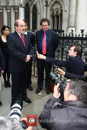 Salman Rushdie leaves the High Court Rushdie visited court to hear judgment on his libel action against former police officer,...