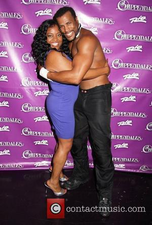 Sherri Shepherd co-host of 'The View' visits with The Chippendales at the Rio Hotel and Casino Las Vegas, Nevada -...