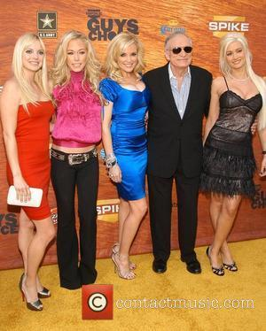 Anna Faris, Kendra Wilkinson, Bridget Marquardt, Hugh Hefner and Holly Madison Spike TV's 2nd Annual 'Guy's Choice' awards held at...
