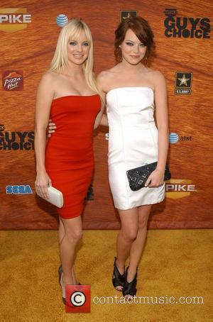 Anna Faris and Emma Stone Spike TV's 2nd Annual 'Guy's Choice' awards held at Sony Studios Los Angeles, California -...