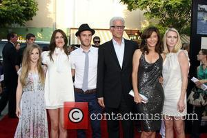Ted Danson, Mary Steenbergen and family Step Brothers Premiere- Arrivals held at Mann Village Theater Westwood, California - 15.07.08