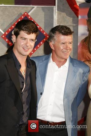 Robin Thicke and father Alan Thicke 'Swing Vote' Premiere held at El Capitan Theatre Hollywood, California USA - 24.07.08