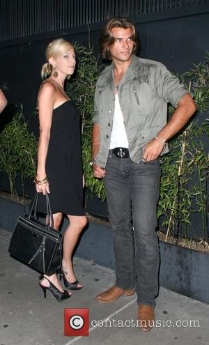 Taylor Kitsch with his girlfriend outside Foxtail in West Hollywood Los Angeles, California - 18.06.08