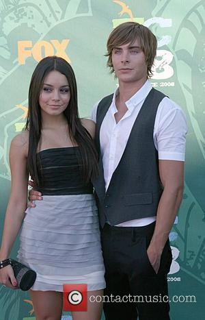 Vanessa Hudgens and Zac Efron  Teen Choice Awards 2008 at the Universal Ampitheater at Universal Studios- Arrivals Los Angeles,...