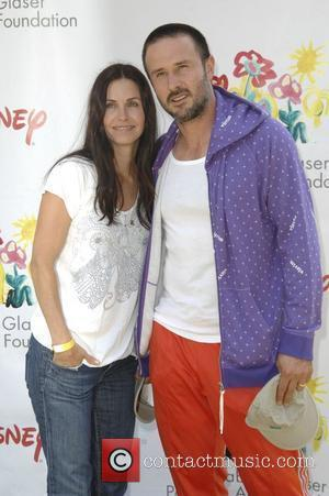 Courteney Cox and David Arquette,  Time for Heroes celebrity carnival to benefit The Elizabeth Glaser Pediatic Aids Foundation....