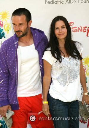 Courtney Cox and David Arquette  Time for Heroes celebrity carnival to benefit The Elizabeth Glaser Pediatic Aids Foundation. Los...