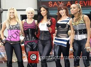 Kimberly Wyatt, Ashley Roberts, Nicole Scherzinger, Jessica Sutta, Melody Thornton of Pussycat Dolls performs live on 'The Today Show's Summer...
