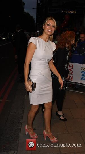 Tess Daly, arrive at TV Quick & TV Choice Awards at The Dorchester. England - 08.09.09